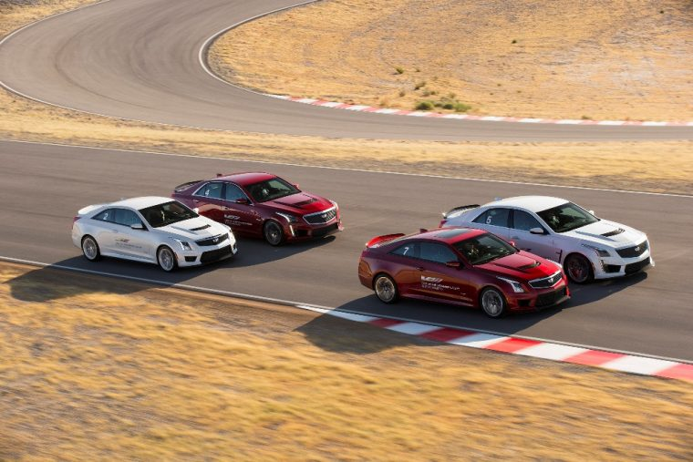 Buyers of new Cadillac V-Series models will receive free driving lessons at the V-Performance Driving Academy
