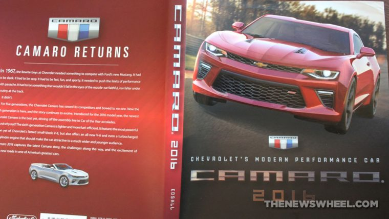 Camaro Book Review Dust Jacket