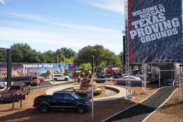 Nissan celebrates all things Texan in a TITAN way at 130th State