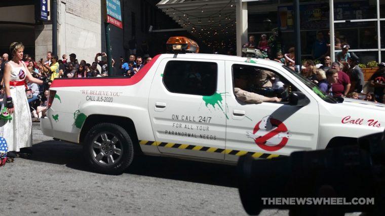 Honda Ridgeline Ghosbusters mobile at Dragon Con Atlanta Parade