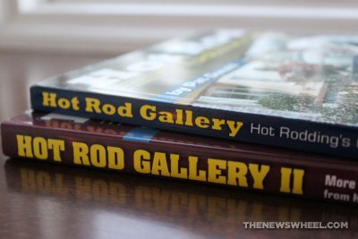 Hot Rod Gallery Book review Pat Ganahl classic cars binding