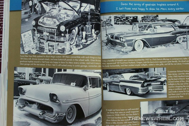 Hot Rod Gallery Book review Pat Ganahl classic cars pages