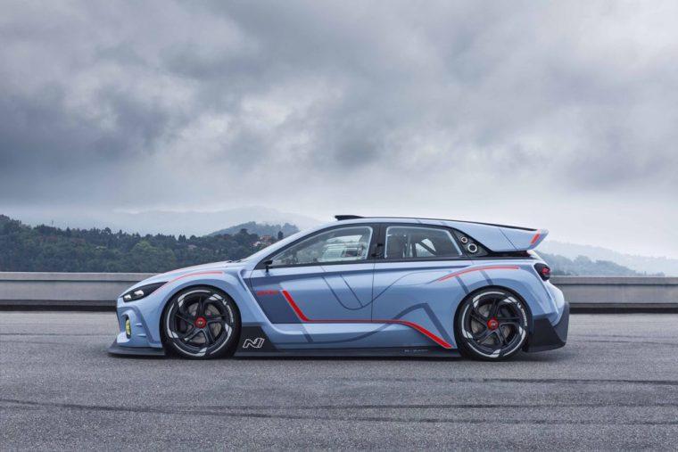 Hyundai RN30 Concept Race Car Paris Motor Show Debut