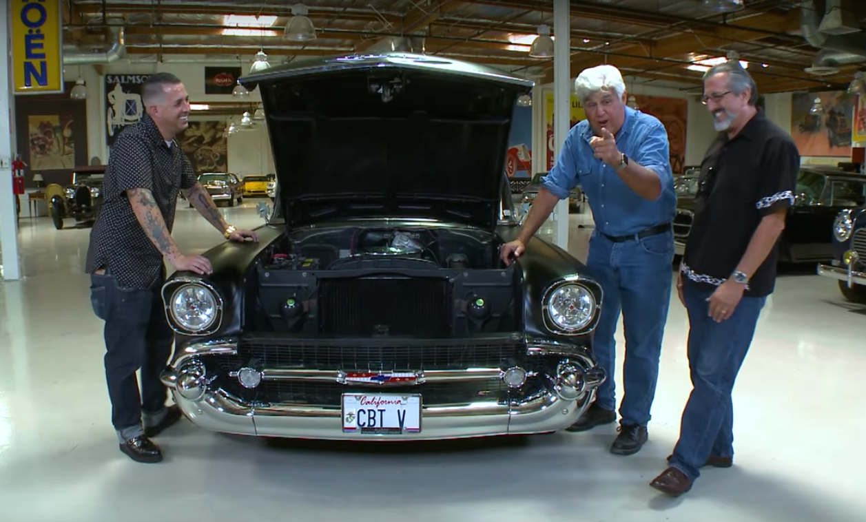Chevrolet Bel Air >> Jay Leno Spotlights 57 Chevy Built by Father and Son Team ...
