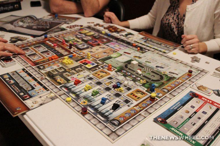Kanban Automotive Revolution board game review board