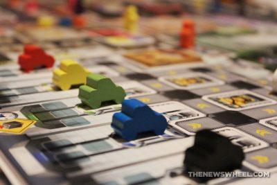 Kanban Automotive Revolution board game review car tokens