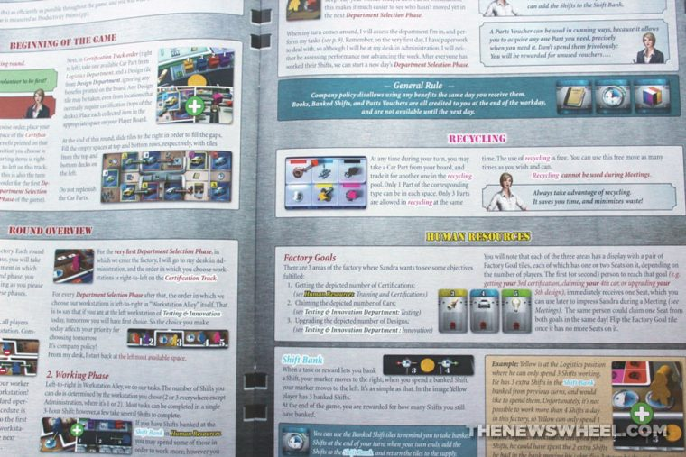 Kanban Automotive Revolution board game review instructions