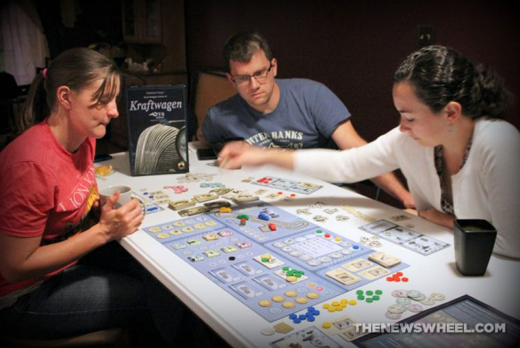 Kraftwagen V6 Edition Stronghold Games 2016 board game review play through