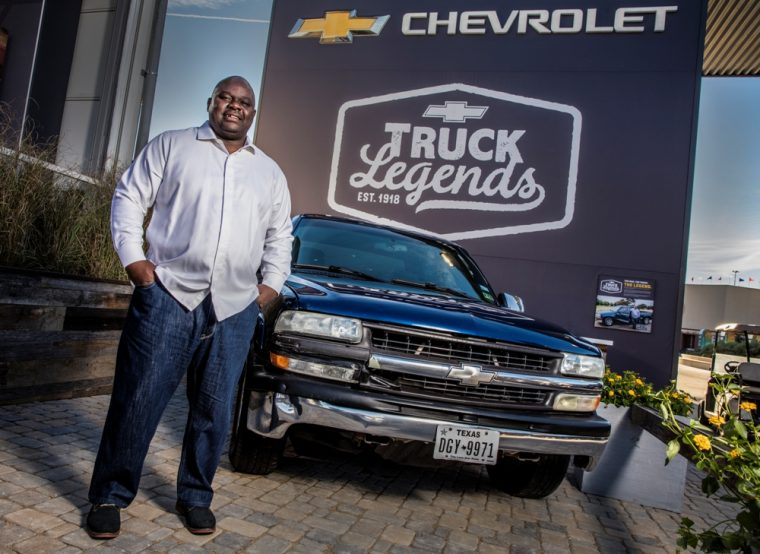 Chevy has named Lonzo Anderson an Official Chevy Truck Legend of Texas
