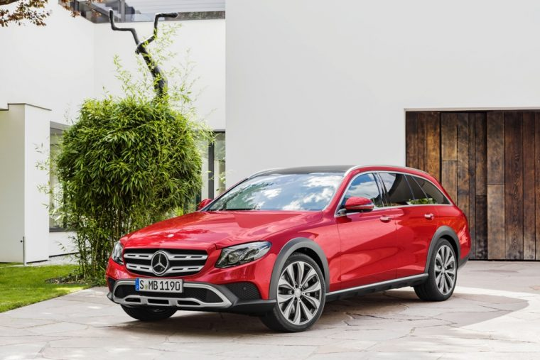 The rugged new Mercedes-Benz E-Class All-Terrain will make its debut at the Paris Motor Show
