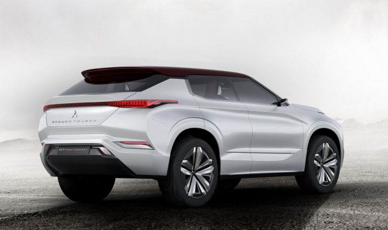 Mitsubishi GT-PHEV Concept Car Rear End