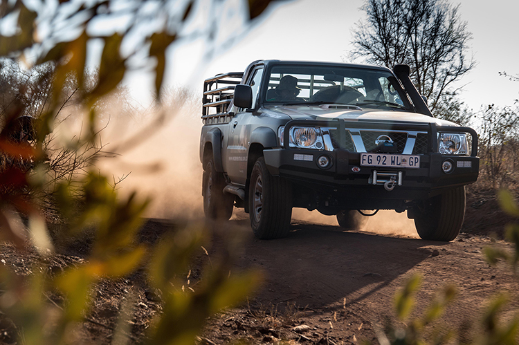 Nissan Patrol comes to rhinos' rescue in South Africa