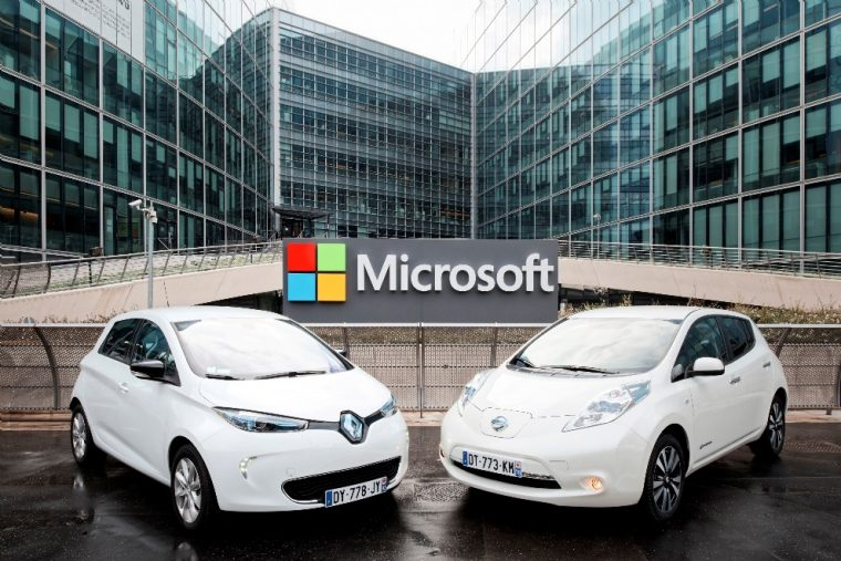 renault-nissan-alliance-microsoft-partnership