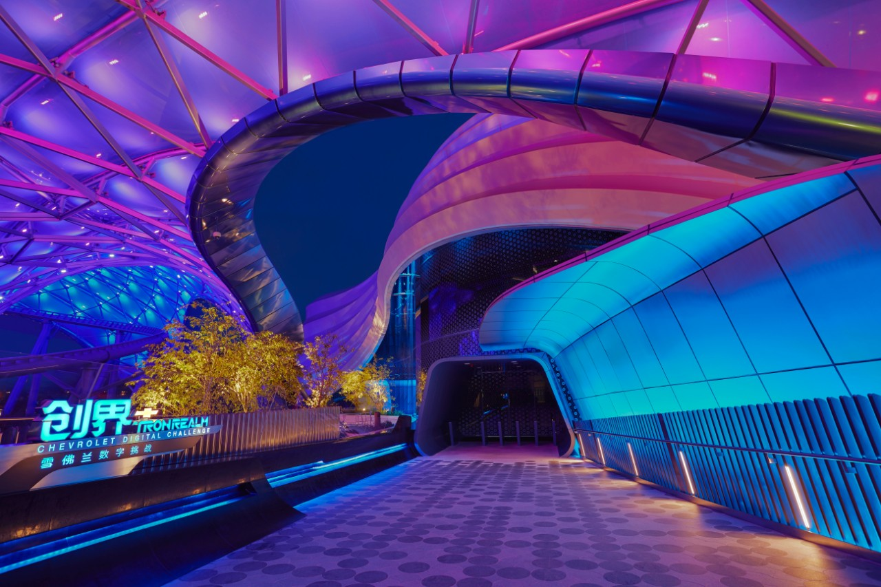 """""""TRON Realm, Chevrolet Digital Challenge"""" Attraction Opens ..."""