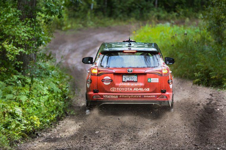 Toyota RAV4 @ Rally Ojibwe