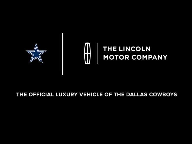 Lincoln Official Luxury Vehicle of the Dallas Cowboys