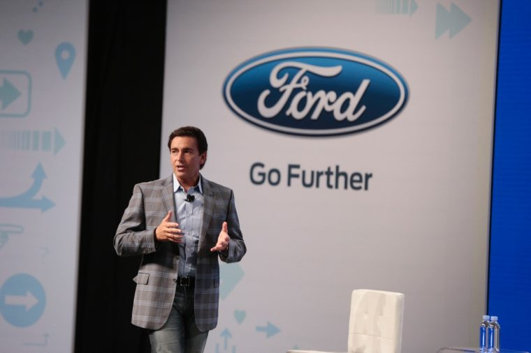 Ford CEO Mark Fields at the 2016 Further with Ford conference