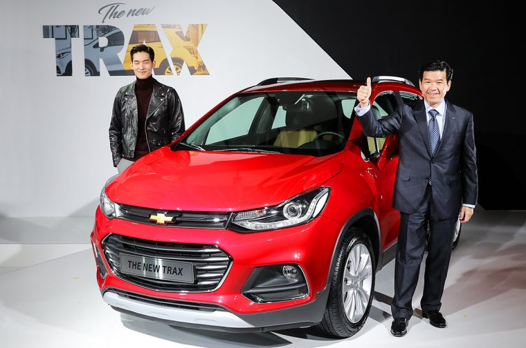New Chevy Trax Korea