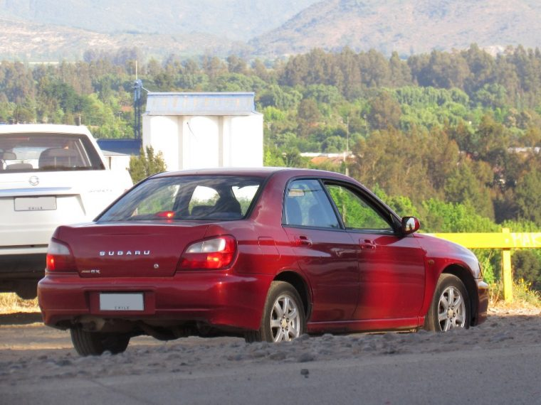 A 2001 Subaru Impreza was accidentally stolen in Portland recently then returned the next day with an apology note