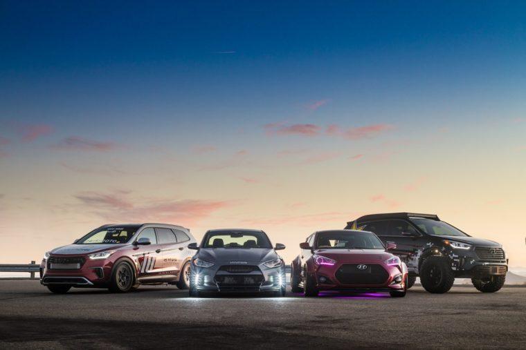 2016 Hyundai SEMA custom tuned cars vehicle lineup