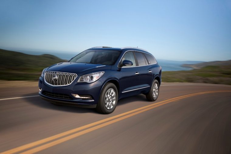 The 2017 Buick Enclave has a starting MSRP of less than $40,000