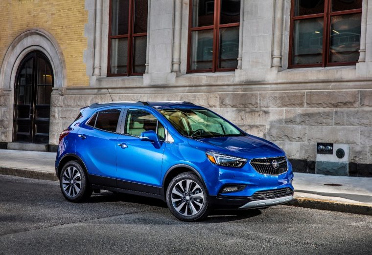 2017 Buick Encore model overview front design