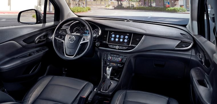 2017 Buick Encore model overview interior