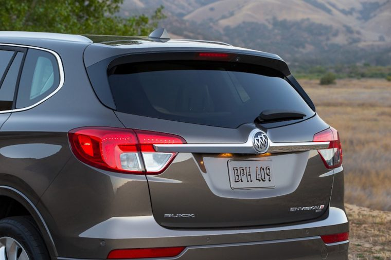 2017 Buick Envision Back End