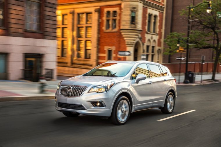 2017 Buick Envision Driving