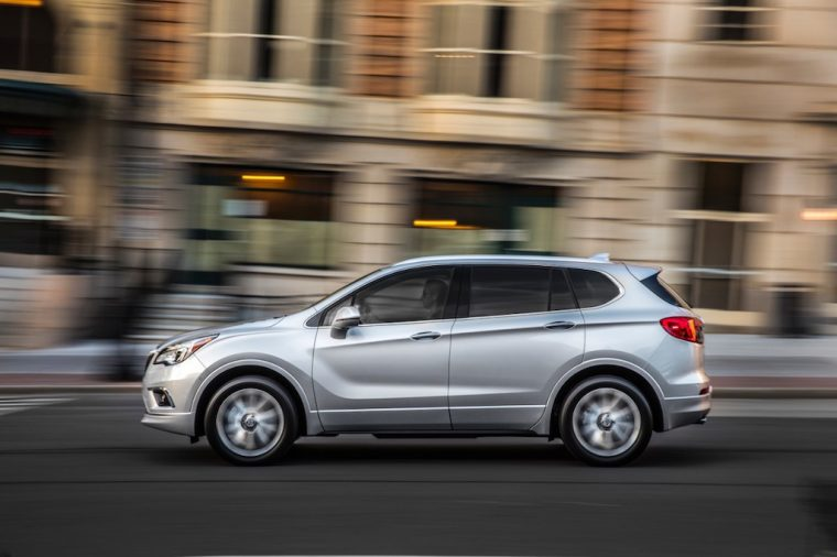 2017 Buick Envision Silhouette