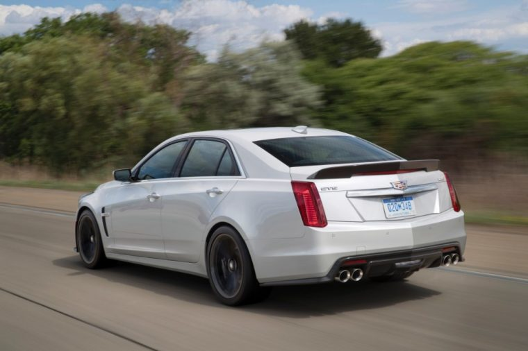 The 2017 Cadillac CTS-V can reach 60 mph in just 3.7 secs