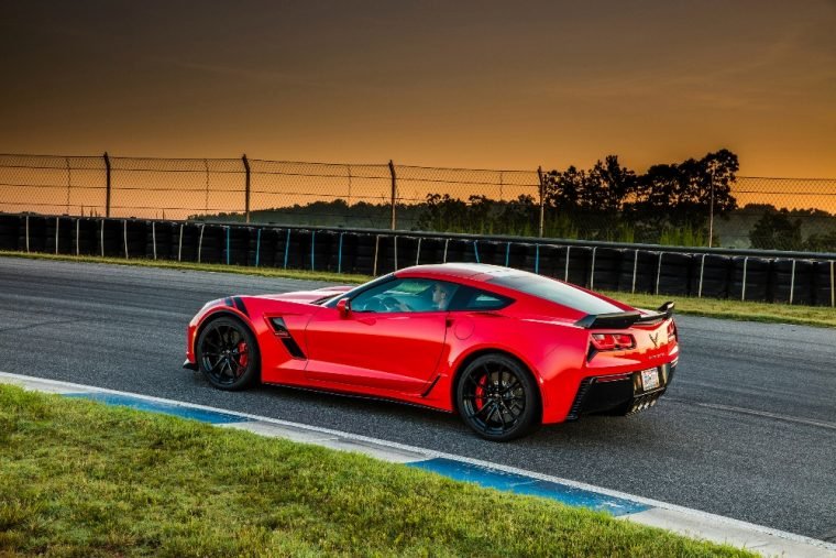 The 2017 Corvette Grand Sport combines the Stingray's engine with the Z06's appearance