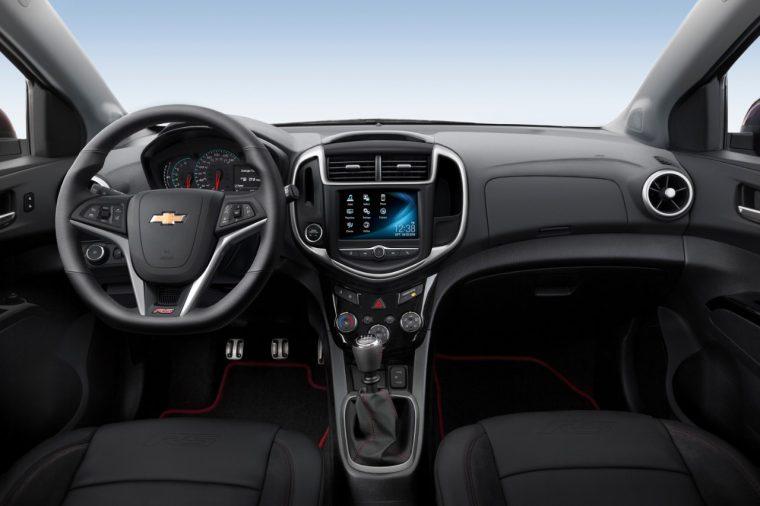 2017 Chevrolet Sonic Dashboard
