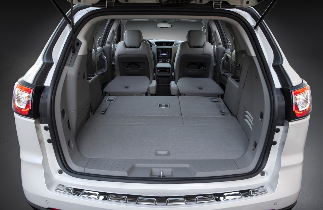 Chevrolet Traverse Cargo Space