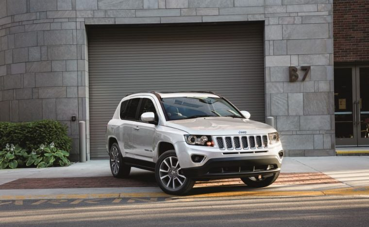 2017 Jeep Compass Front End