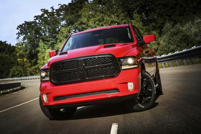 2017 Ram 1500 Front End
