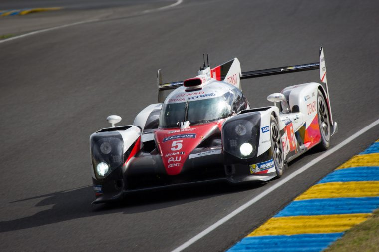 #5 Toyota TS050 at Le Mans