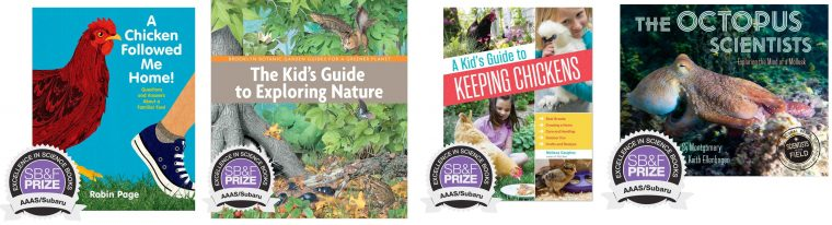 AAAS Subaru SB&F Prize for Excellence in Science Books children book publication awards