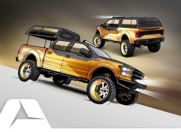 A.R.E. Accessories 2016 Gold Standard Ford F-150 Project Truck SEMA