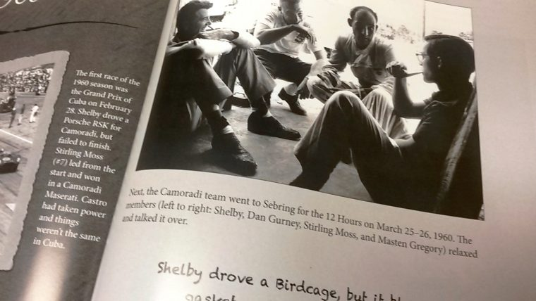 Carroll Shelby Collection of Favorite Racing Pictures book review cartech Art Evans