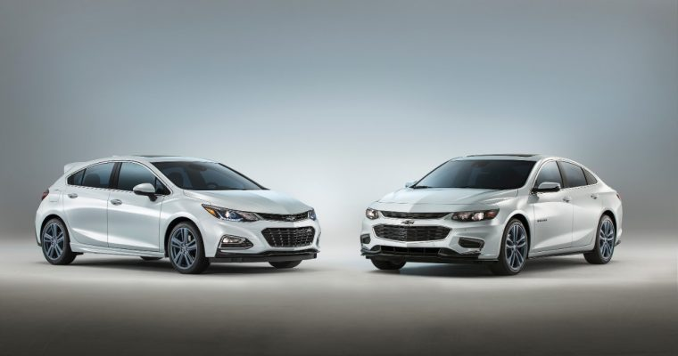 The Chevy Malibu and Chevy Cruze Blue Line concepts set to debut at 2016 SEMA Show