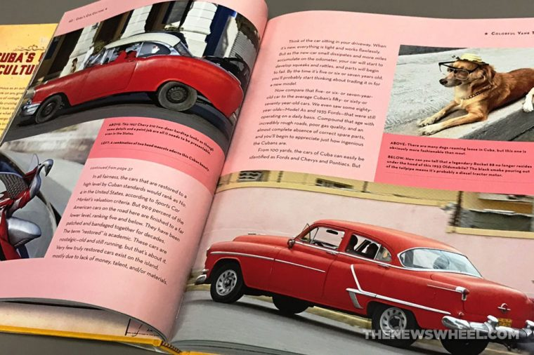 Cuba's Car Culture book review Motorbooks Tom Cotter Bill Warner contents