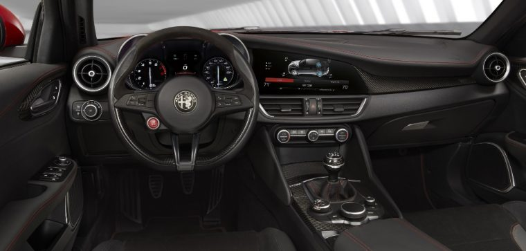 The Alfa Romeo Giulia will be automatic-only in the US