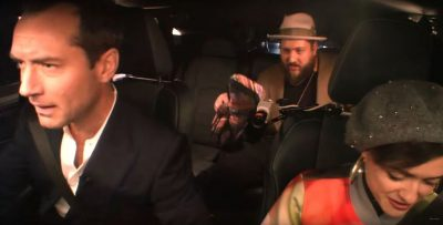 Jude Law Life Lexus RX Live commercial improvised