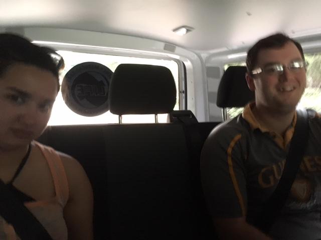 mexican ambulance backseat