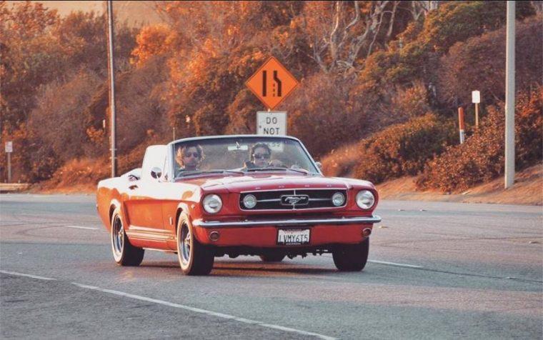 Ford Mustang Best F(r)iends Greg Sestero Tommy Wiseau