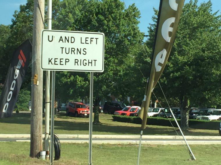 New Jersey Left Turn