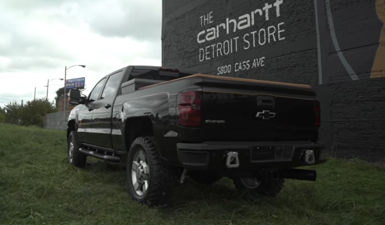 Chevy Carhartt Edition >> Chevy To Unleash New Silverado 2500hd Carhartt Concept At