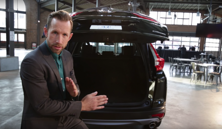 Honda promotional video introduces the all-new 2017 Honda CR-V