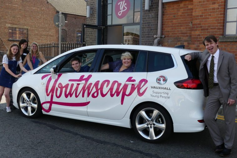 Vauxhall donates Zafira Tourer to Youthscape